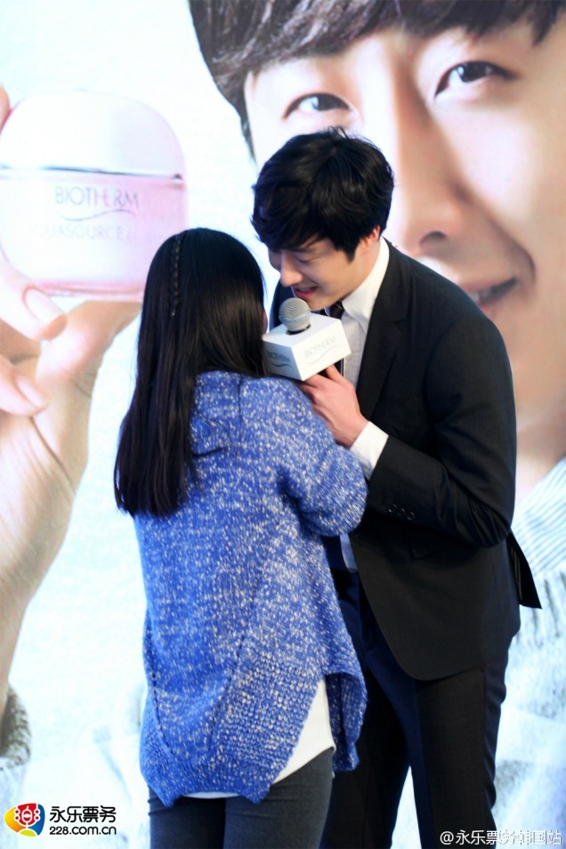 2015 3 20 Jung Il-woo at a Biotherm Event in Beijing, China. 35