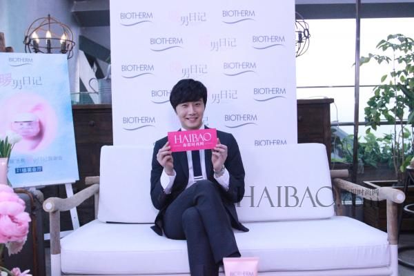 2015 3 20 Jung Il-woo at a Biotherm Event in Beijing, China. 54