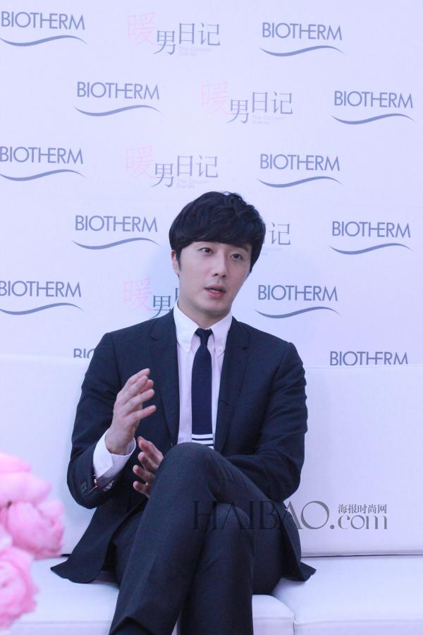 2015 3 20 Jung Il-woo at a Biotherm Event in Beijing, China. 56