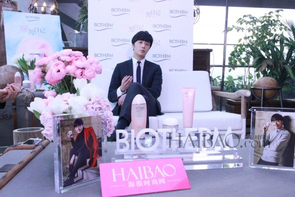 2015 3 20 Jung Il-woo at a Biotherm Event in Beijing, China. 57