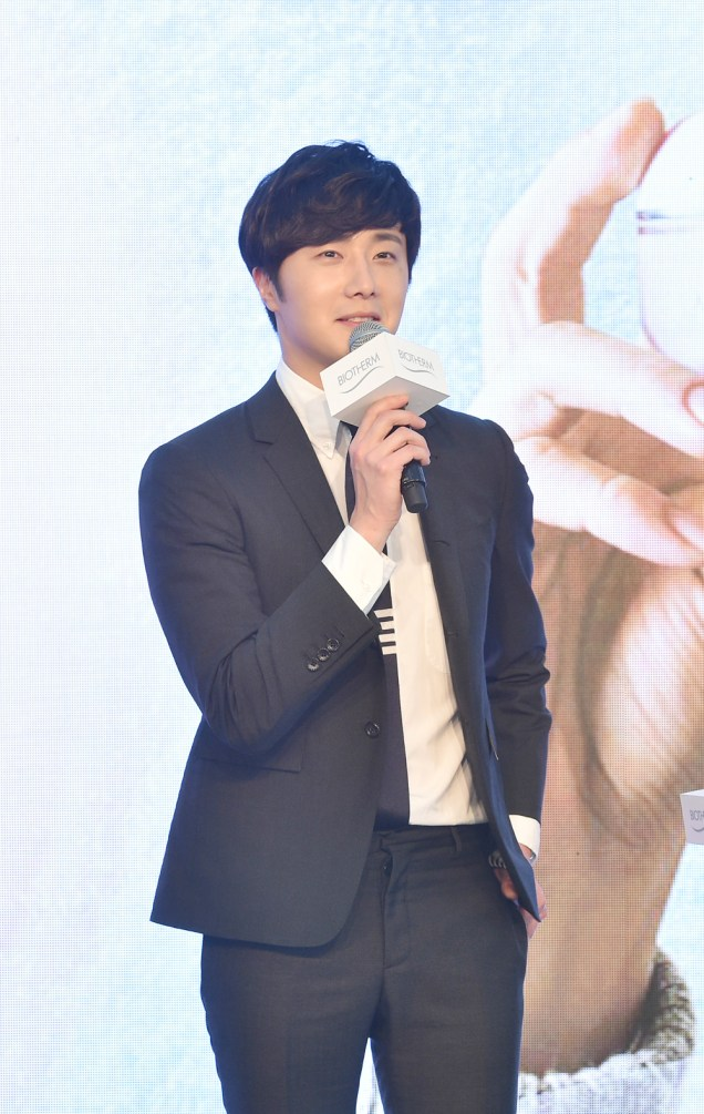 2015 3 20 Jung Il-woo at a Biotherm Event in Beijing, China. 8