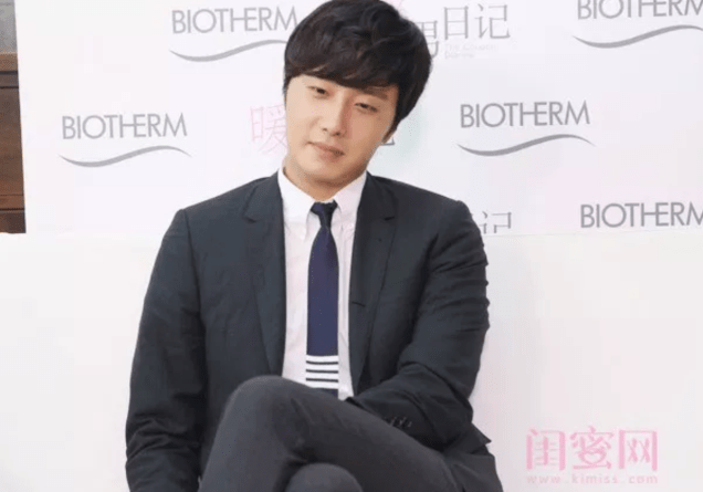 2015 3 20 Jung Il-woo at a Biotherm Event in Beijing, China. Extras!1