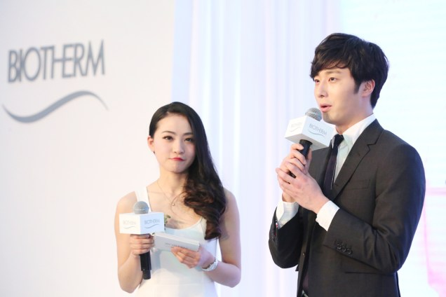 2015 3 20 Jung Il-woo at a Biotherm Event in Beijing, China. Extras!7