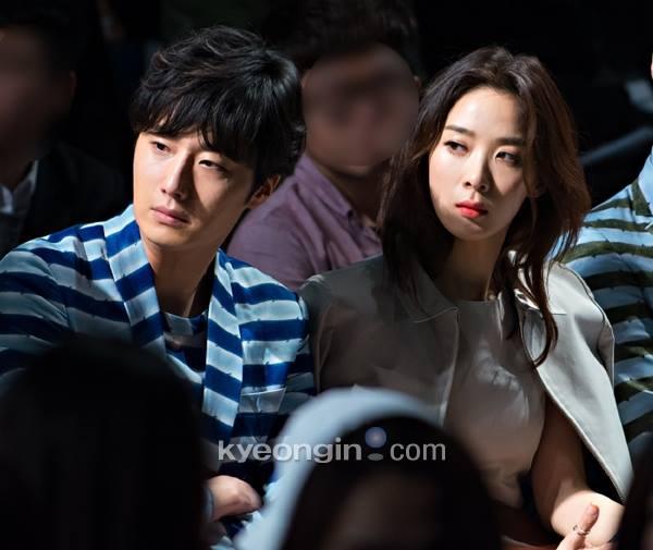 2015 3 21 Jung Il-woo at the Seoul Fashion Week wearing a Hong Hye-jin Design. 25.jpg
