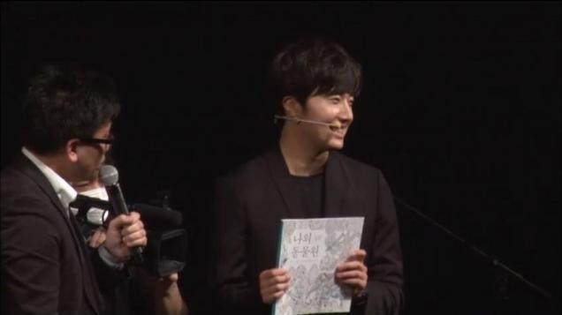 2015 4 25 Jung Il-woo in his Fan Meeting Rainbo-Woo in Tokyo, Japan. 44