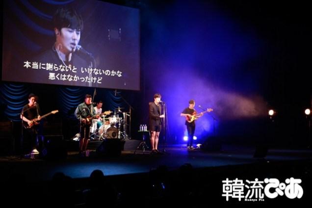2015 4 25 Jung Il-woo in his Fan Meeting Rainbo-Woo in Tokyo, Japan. 57