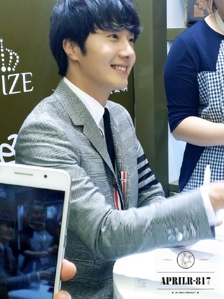 2015 5 19 Jung Il Woo attends the '2015 China Shanghai Cosmetics and Beauty Expo' 6
