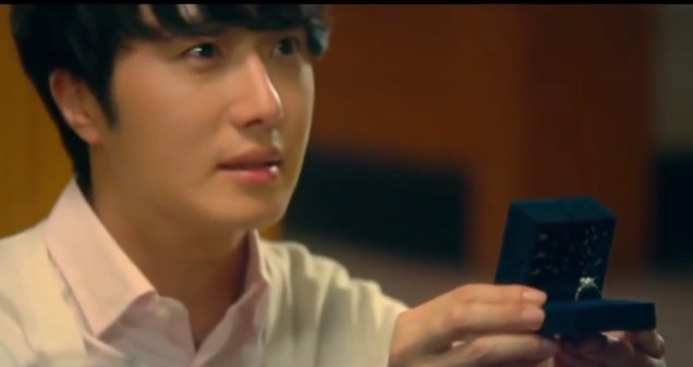 2015 5 Jung Il Woo in The Rise of a Tomboy. Proposal Scene. 1