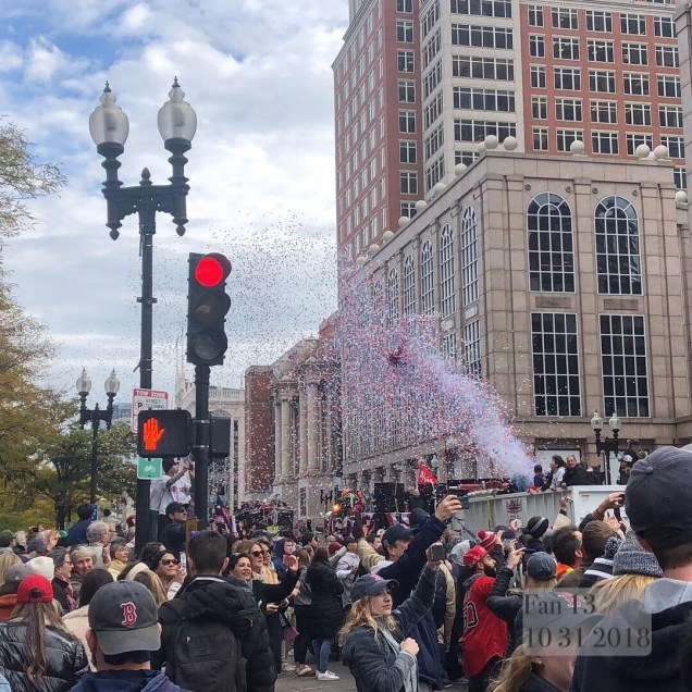 2018 10 31 Boston Red Sox Championship Duck Boat Parade. 5