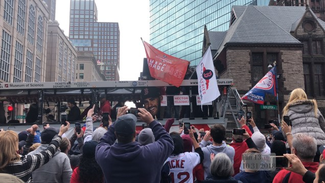 2018 10 31 Boston Red Sox Championship Duck Boat Parade. 8