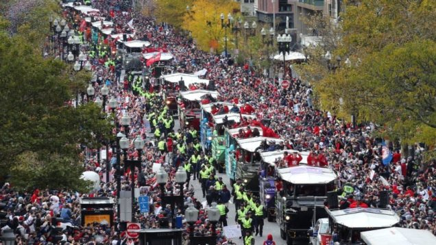 2018 10 31 Boston Red Sox Parade Cr. Boston Globe