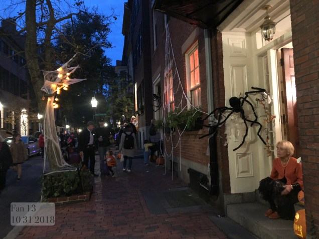 2018 10 31 Halloween at Beacon Hill in Boston, MA. By Fan 13 12