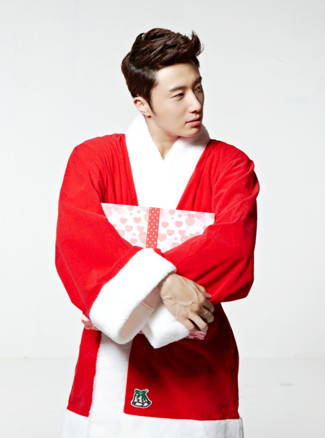 2013 12 Jung Il-woo as Santa 3