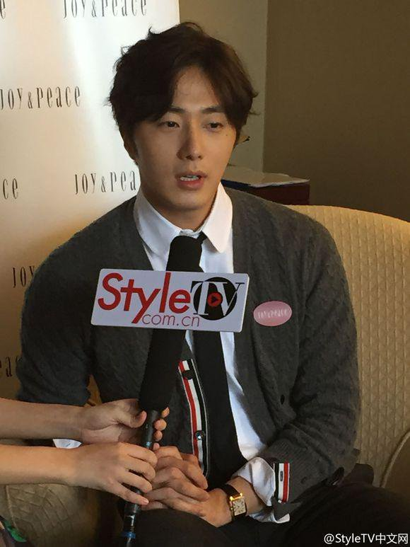2015 09 16 Jung Il-woo attends the 20th Anniversary of Joy and Peace in Shanghai, China. 60