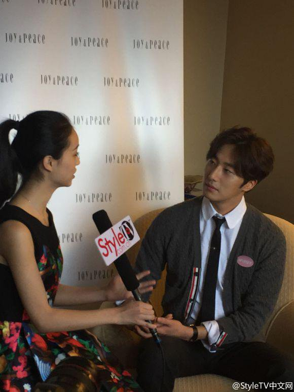 2015 09 16 Jung Il-woo attends the 20th Anniversary of Joy and Peace in Shanghai, China. 61