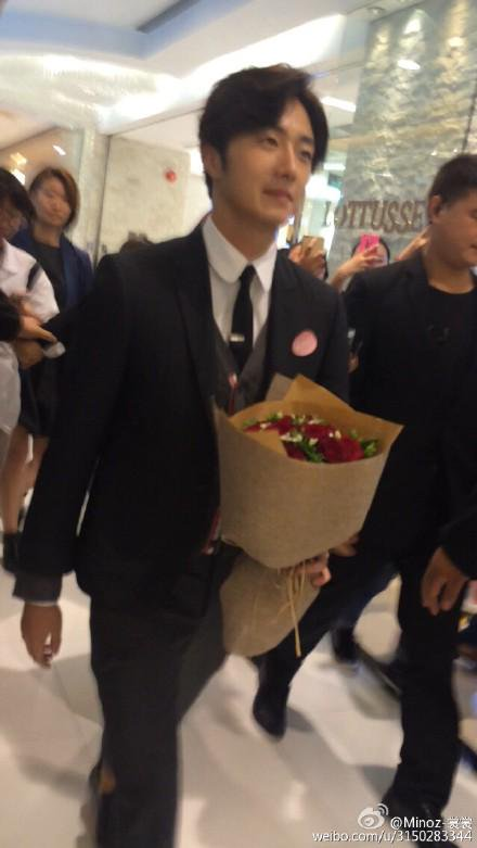 2015 09 16 Jung Il-woo attends the 20th Anniversary of Joy and Peace in Shanghai, China. 8