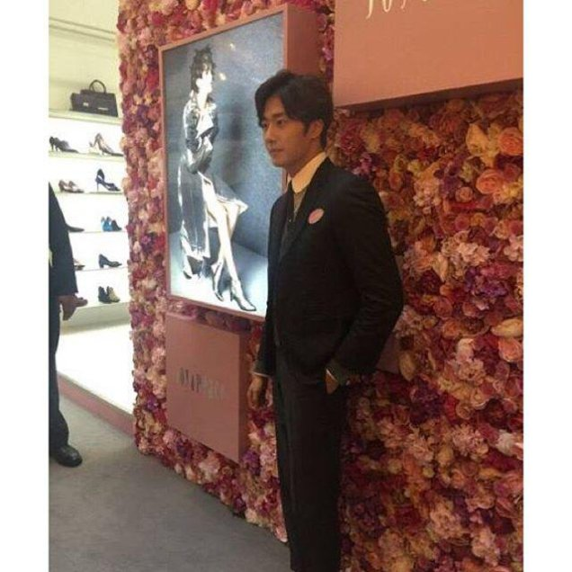 2015 09 16 Jung Il-woo attends the 20th Anniversary of Joy and Peace in Shanghai, China. 9