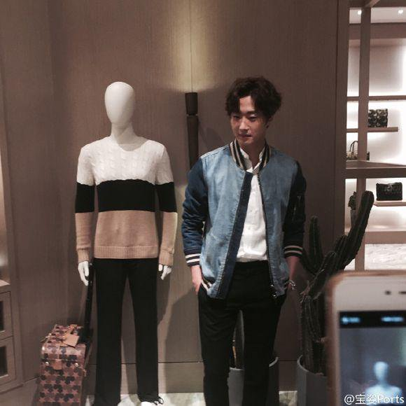 2015 10 13 Jung Il-woo at the Ports 1961 Fashion Show in Shanghai, China.15