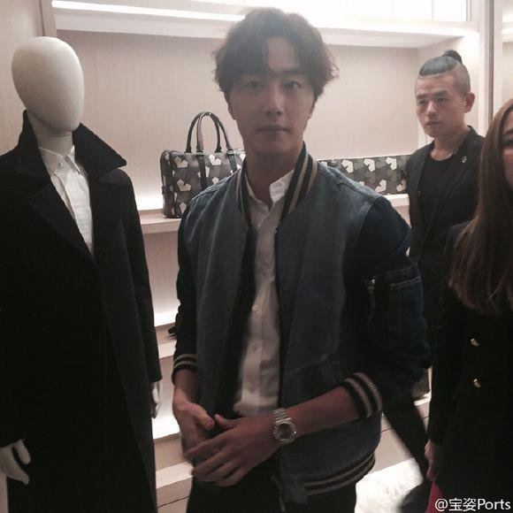 2015 10 13 Jung Il-woo at the Ports 1961 Fashion Show in Shanghai, China.19