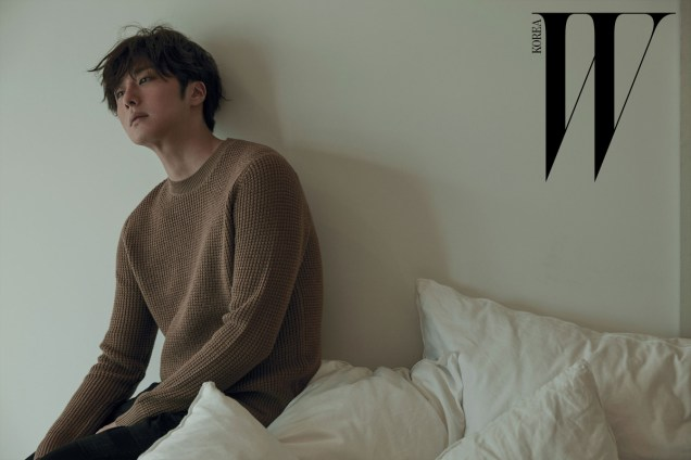2015 11 Jung Il-woo for W Korea Magazine. 10