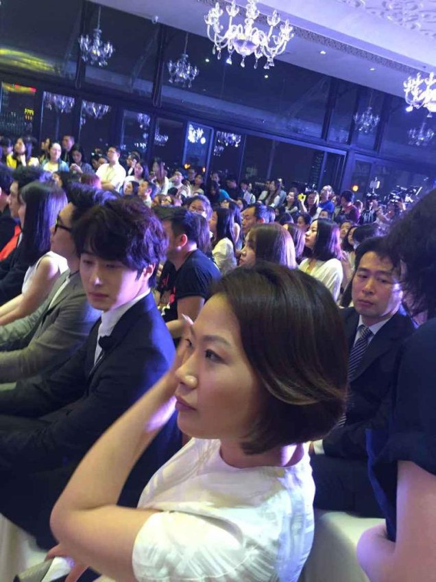 2015 6 10 Jung Il- woo in a Sohu Event 4