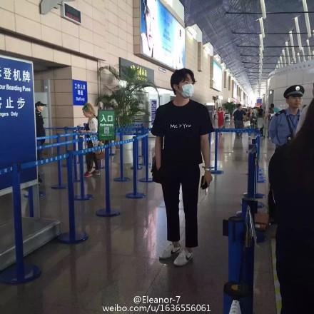 2015 6 11 Jung Il-woo departs back to Korea 2