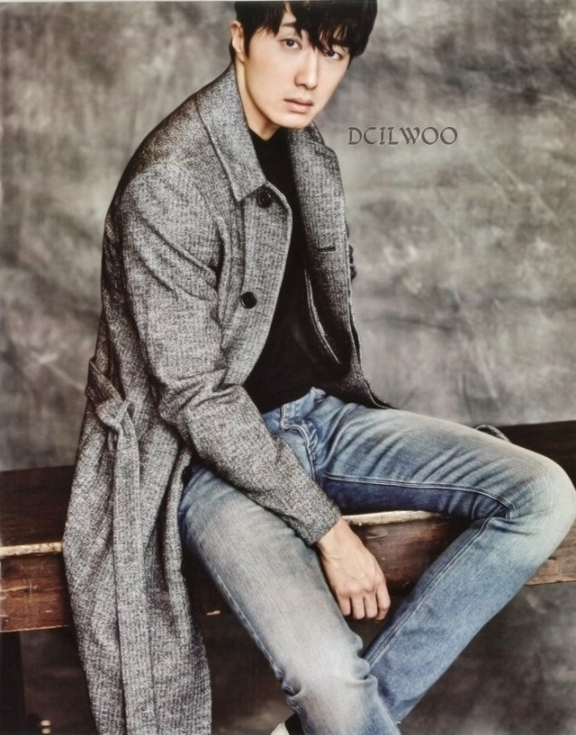 2015 9 Jung Il-woo is a Man in Autumn for Vogue Magazine. 13