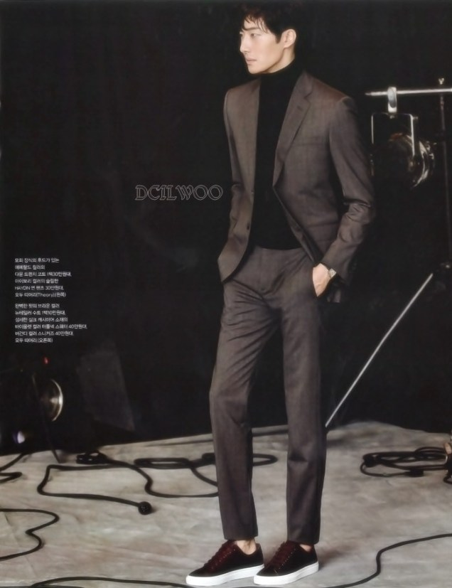 2015 9 Jung Il-woo is a Man in Autumn for Vogue Magazine. 15