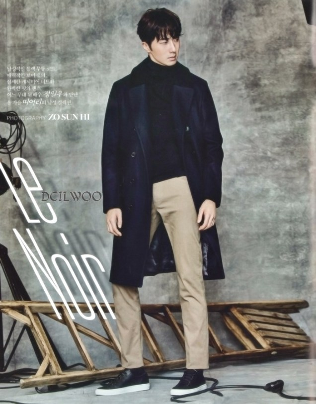 2015 9 Jung Il-woo is a Man in Autumn for Vogue Magazine. 8