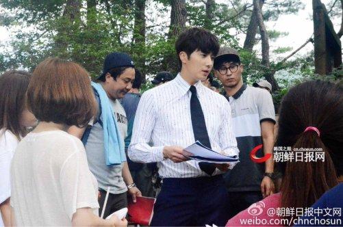 2015 Jung Il-woo in High End Crush BTS Cr. SOHU TV23
