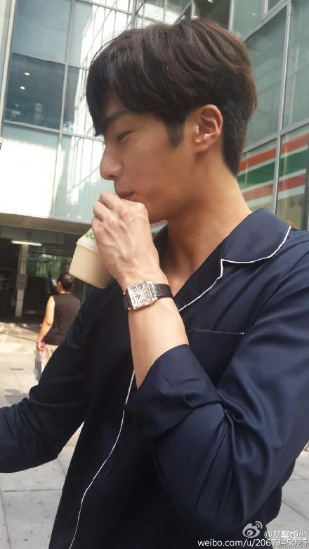 2015 Jung Il-woo in High End Crush BTS Cr. SOHU TV97