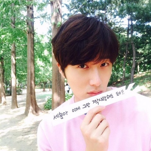 2015 Jung Il-woo in High End Crush BTS LAst Day of Shooting Nov 1 Cr. SOHU TV12