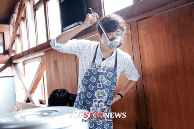 2018 09 13 Jung Il-woo in barbecue birthday celebration in Japan. 5