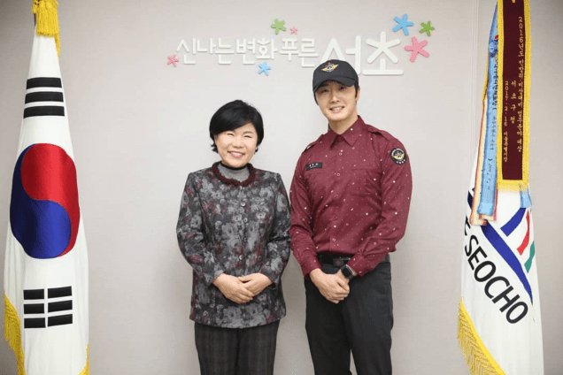 2018 11 30 Jung Il-woo on his military discharge day. 65