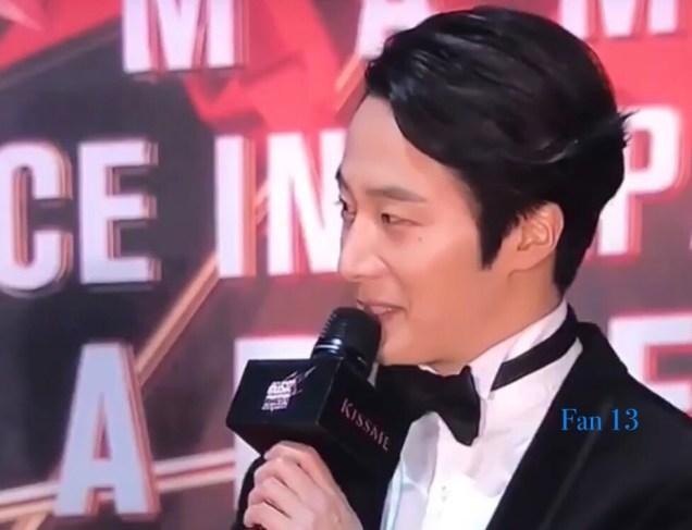 2018 12 12 Jung Il-woo at the MAMA Awards. Cr. Mnet Edits Fan132