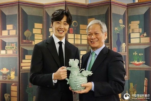 2018 12 3 Jung Il-woo is appointed ambassador to the National Museum of Korea. 10