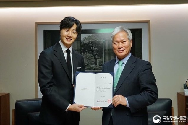 2018 12 3 Jung Il-woo is appointed ambassador to the National Museum of Korea. 7