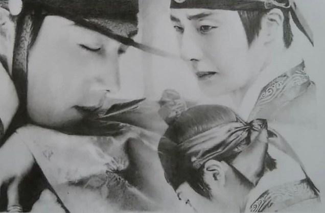 Il-woo Pencil art. Cr. IG @ taiwankingyo 1