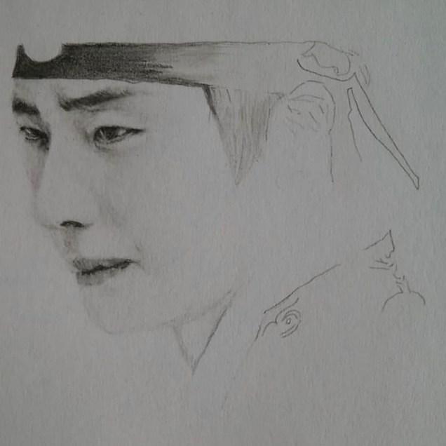 Il-woo Pencil art. Cr. IG @ taiwankingyo 2