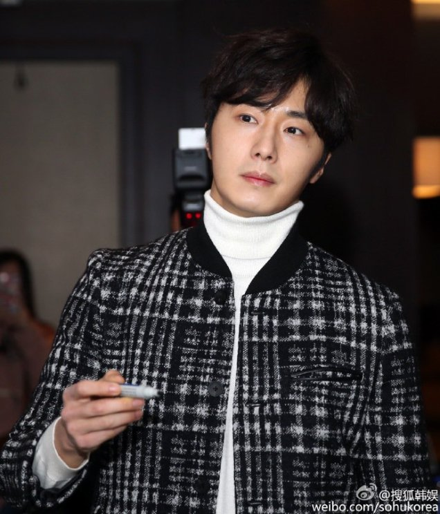 2016 1 10 jung il-woo (among others) at a smile cup press conference. 12