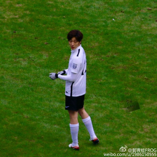 2016 1 10 jung il-woo playing soccer in the 2016 asian smile cup. 14