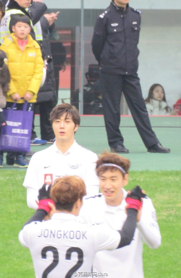 2016 1 10 jung il-woo playing soccer in the 2016 asian smile cup. 25