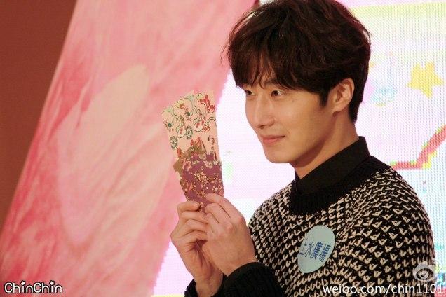 2016 1 23 jung il-woo in hong kong fan meeting extras envelopes 3
