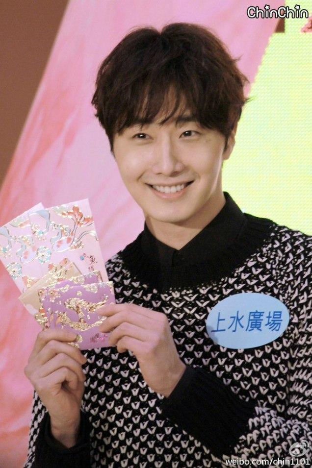 2016 1 23 jung il-woo in hong kong fan meeting extras envelopes 6