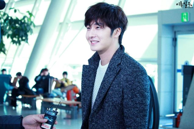 2016 1 9 jung il-woo in the airport going to shanghai for the smile cup part 3 3