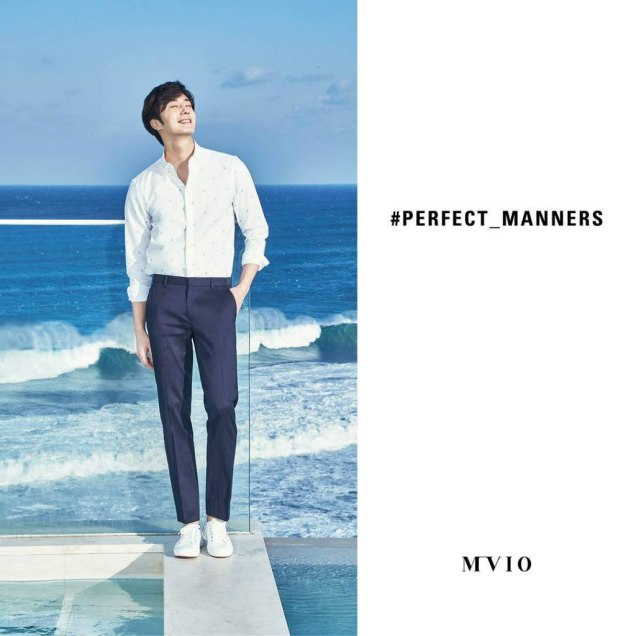 2016 2 2 jung il-woo for mvio. perfect manners. 2