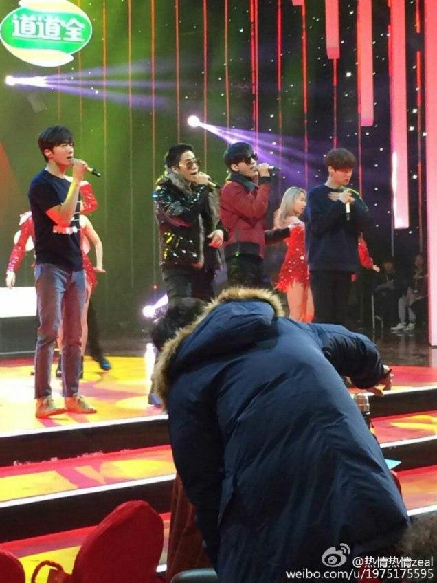 2016 2 8 jung il-woo hunan tv spring gala rehearsal. cr. hunan tv 2