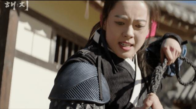 2019 1 21 jung il-woo in haechi third trailer. cr. sbs screen aptures: fan 13 2