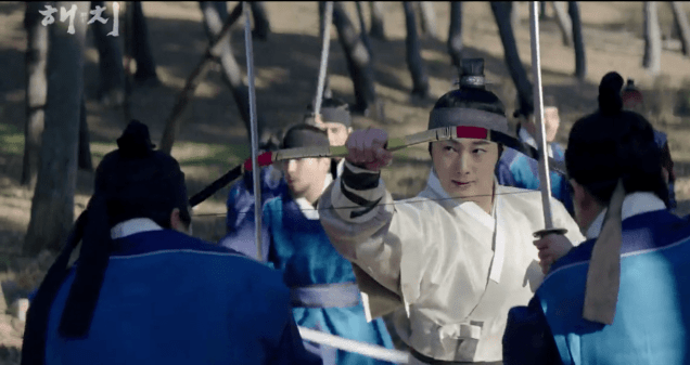 2019 1 21 jung il-woo in haechi third trailer. cr. sbs screen aptures: fan 13 9