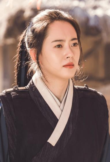 haechi drama, go ara as yeo ji cr. sbs